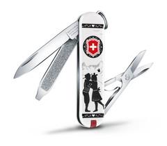 Нож перочинный Victorinox Classic Alps Love (0.6223.L1801) 58 мм 7 функций, белый