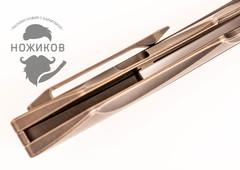 Складной нож Bestech BT1811A, сталь M390, рукоять титан