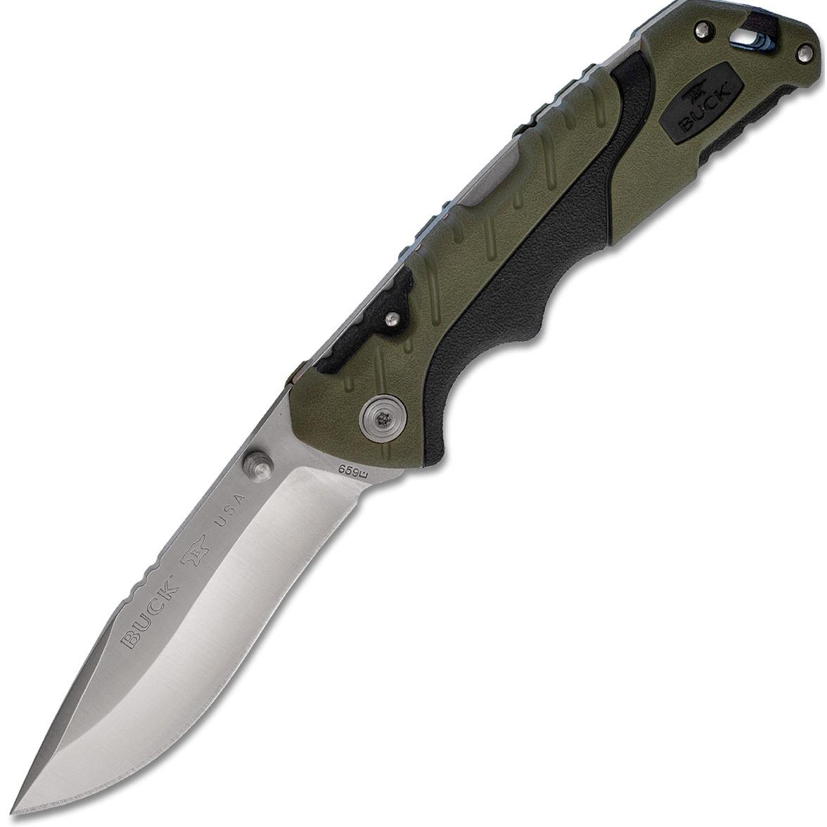 Складной нож Buck Pursuit Large 0659GRS, сталь 420HC, рукоять пластик