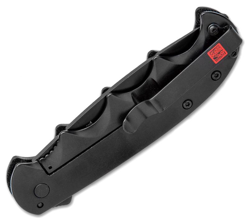 Фото 4 - Складной полуавтоматический нож Kershaw AM-5 K2340, сталь 8Cr13MoV, рукоять сталь/G-10