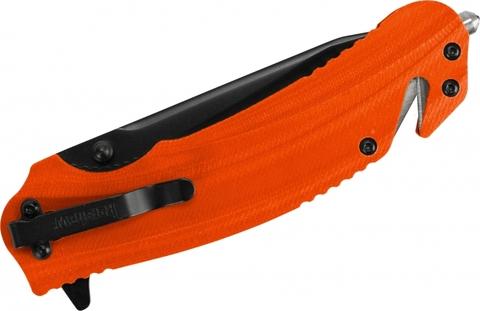 Складной нож Barricade KERSHAW 8650, сталь 8Cr13MoV, рукоять GFN термопластик, оранжевый. Вид 2