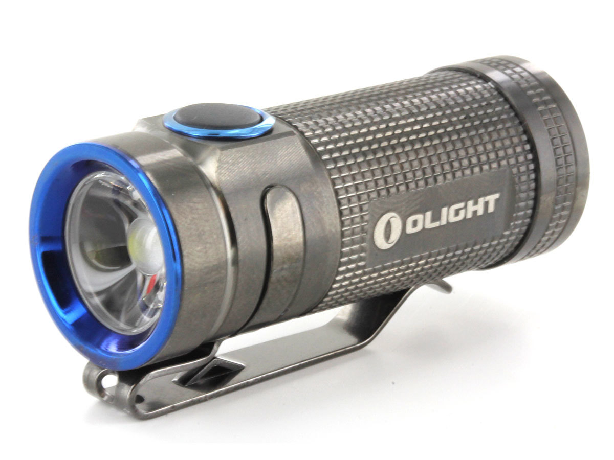 Фонарь Olight S Mini SS Stainless Steel серый