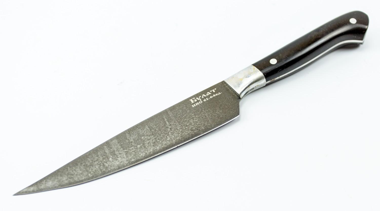 Фото 8 - Нож Эстет большой, булатная сталь от Кузница Коваль