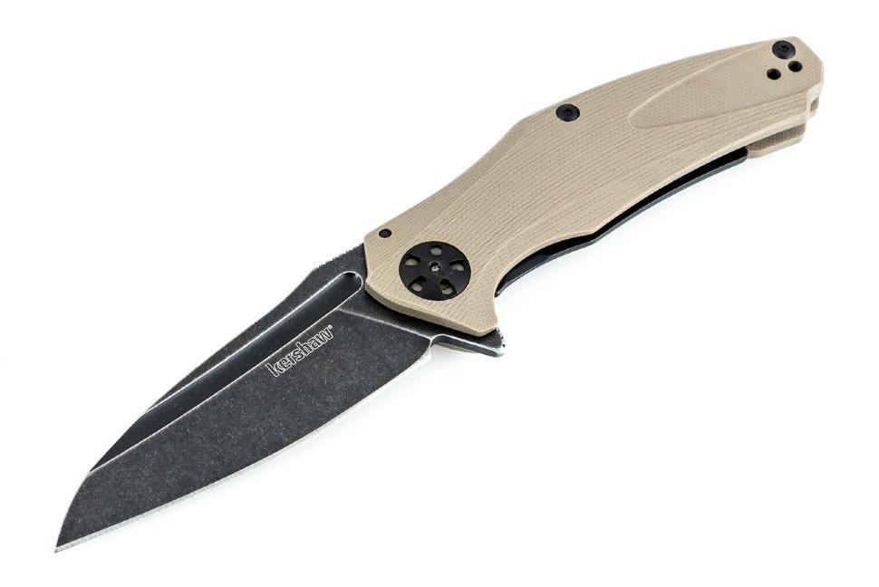 Фото 9 - Складной нож Kershaw Natrix Tan K7007TANBW, сталь 8Cr13MoV, рукоять G-10