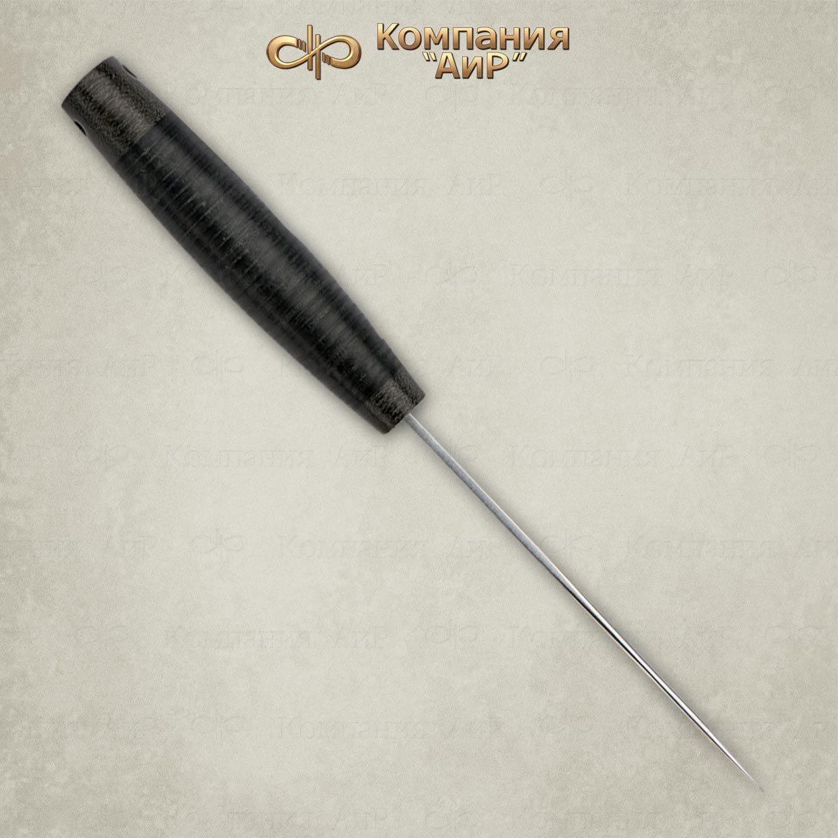 Фото 3 - Нож Пескарь, кожа, 95х18 от АиР