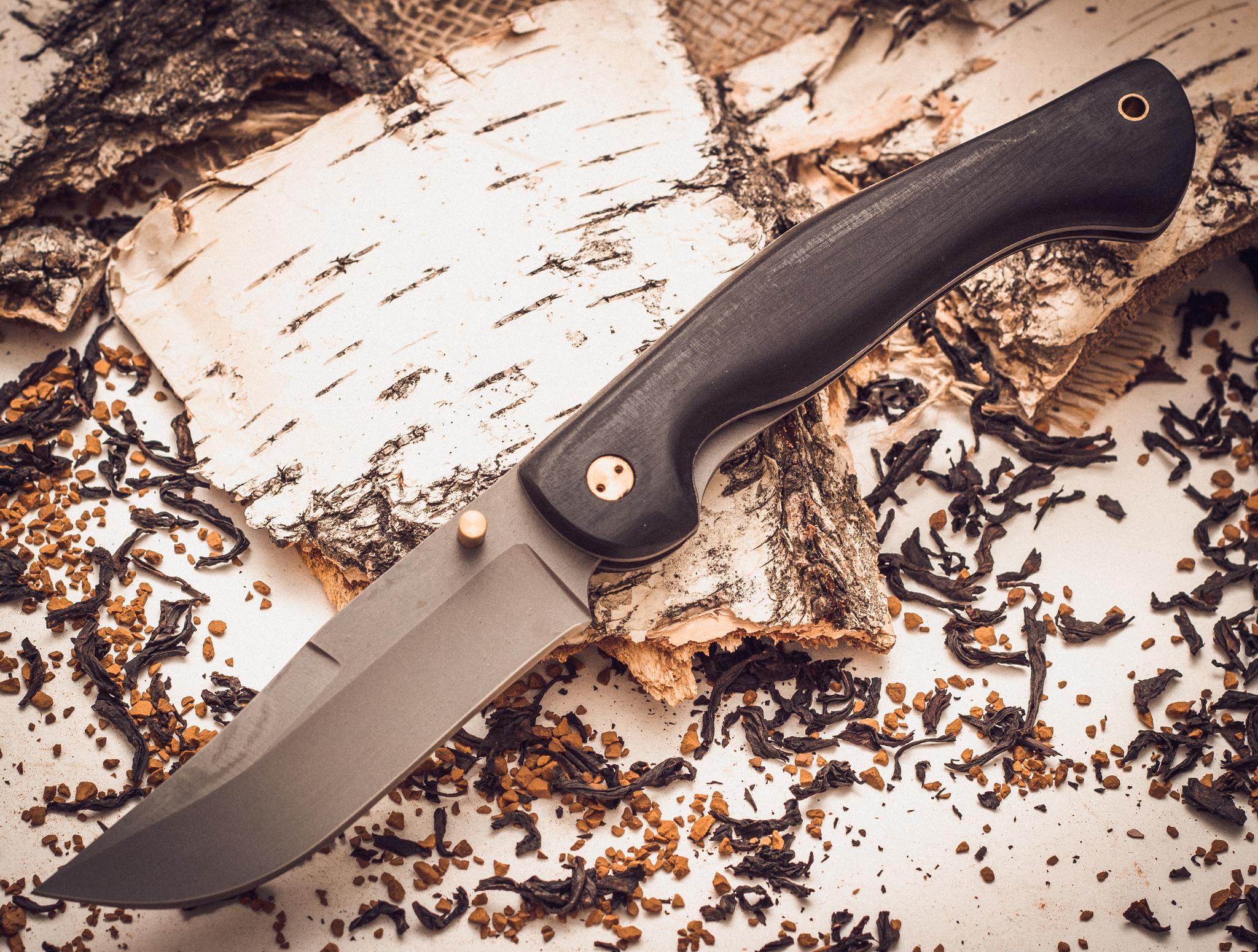 Складной нож Азиат, сталь 95х18, граб от Марычев