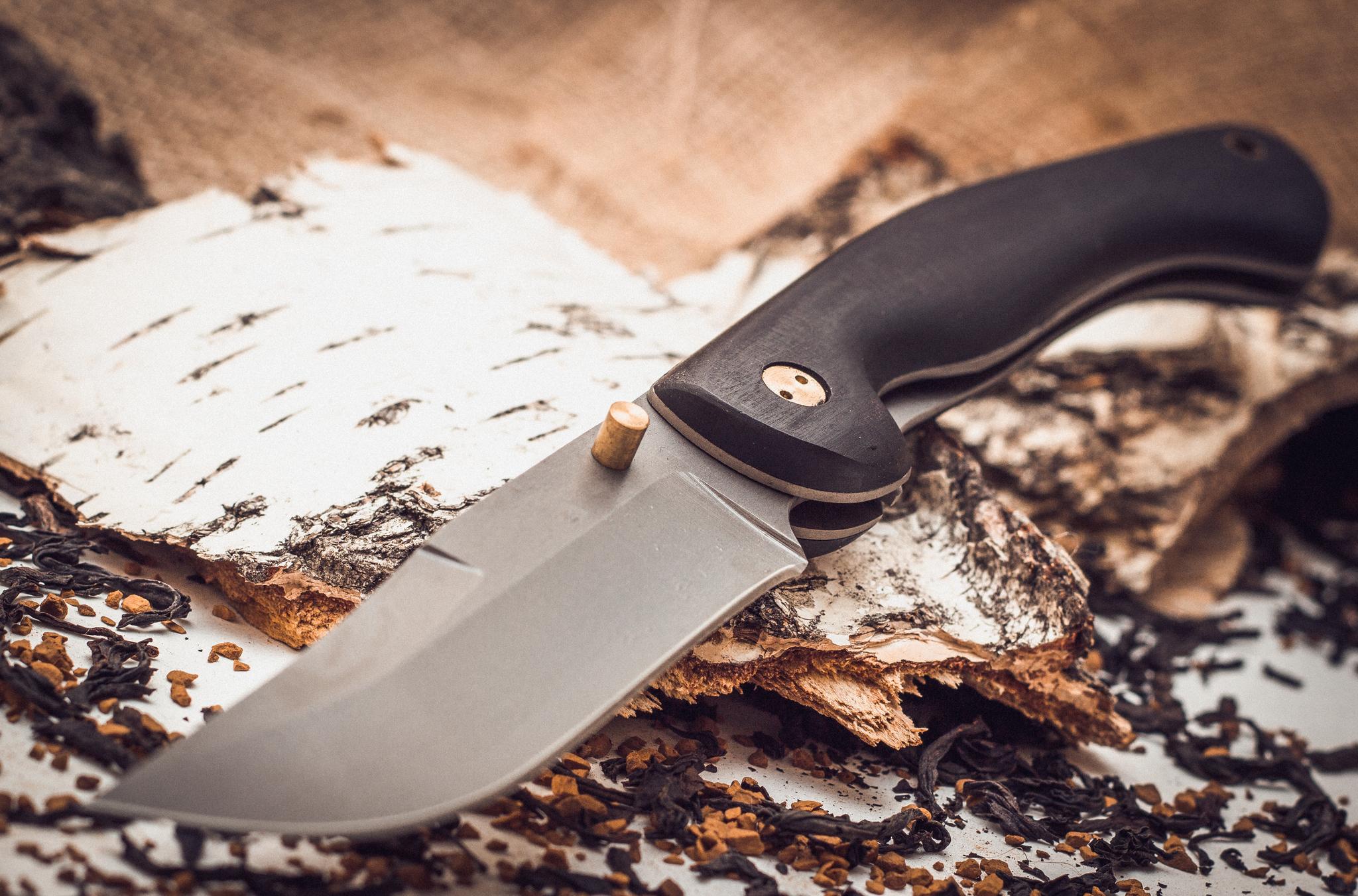 Фото 5 - Складной нож Азиат, сталь 95х18, граб от Марычев