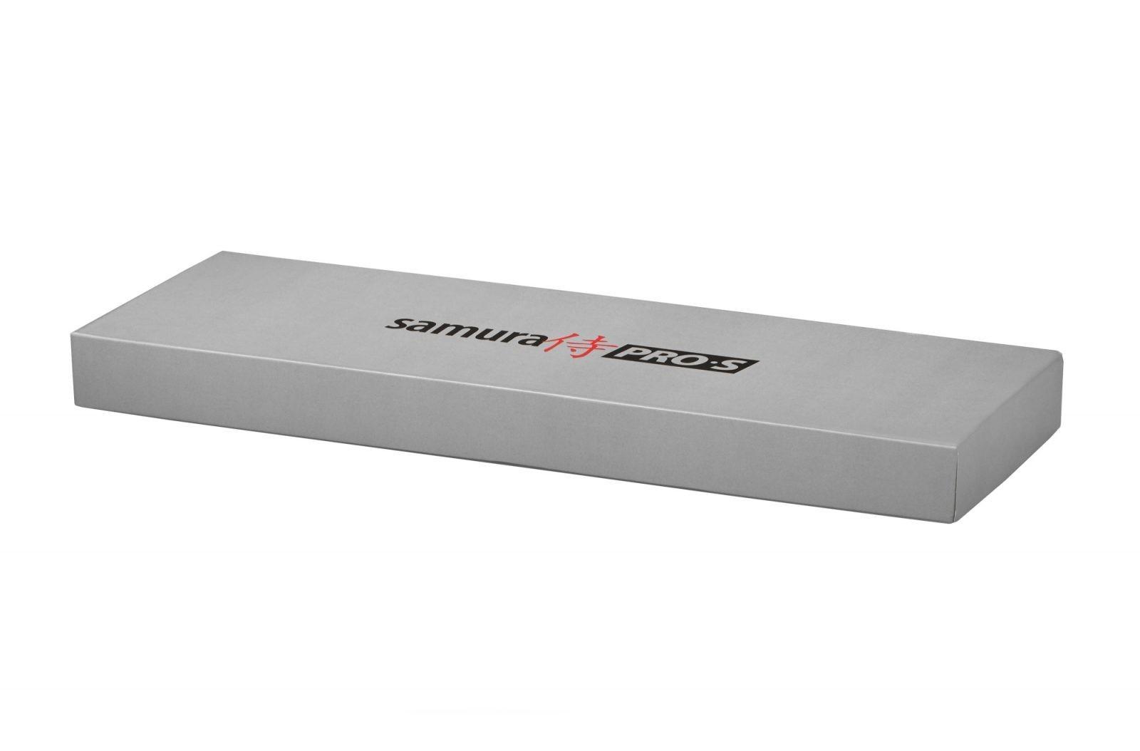 Фото 6 - Набор из 2 кухонных ножей Samura PRO-S в подарочной коробке, сталь AUS-8/рукоять G-10, SP-0210
