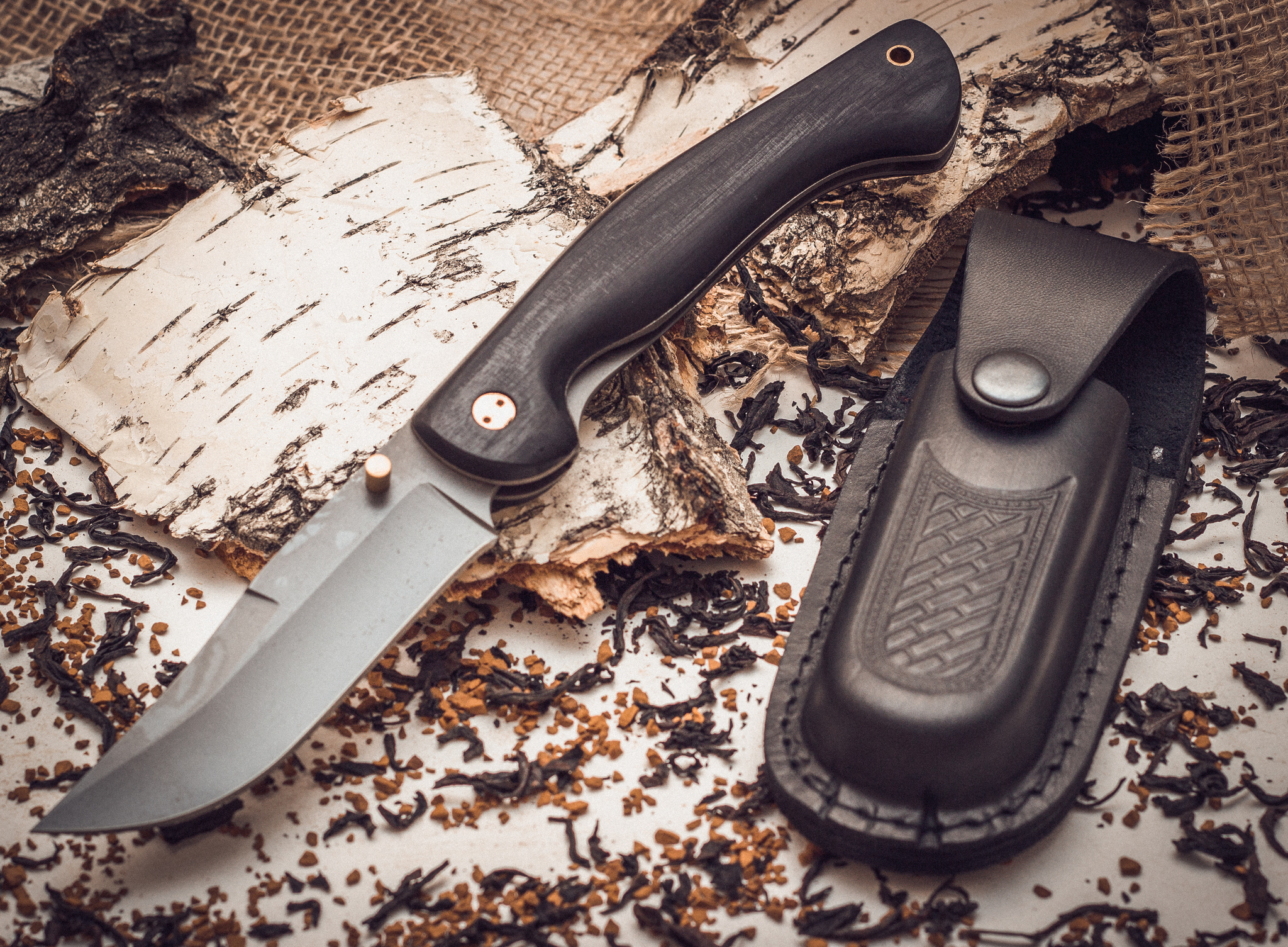 Фото 6 - Складной нож Азиат, сталь 95х18, граб от Марычев
