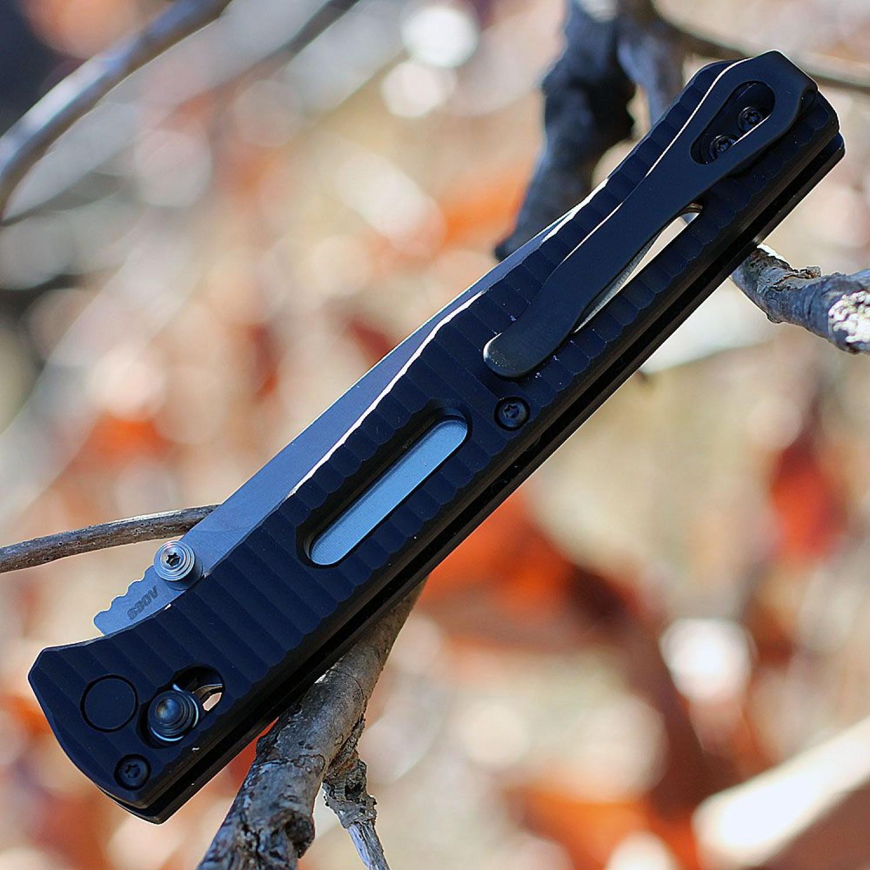 Фото 4 - Складной нож Benchmade Fact 417, сталь S30V, рукоять алюминий