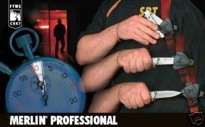 Фото 4 - Тактические ножны для складных ножей Merlin Professional, CRKT MERL1P