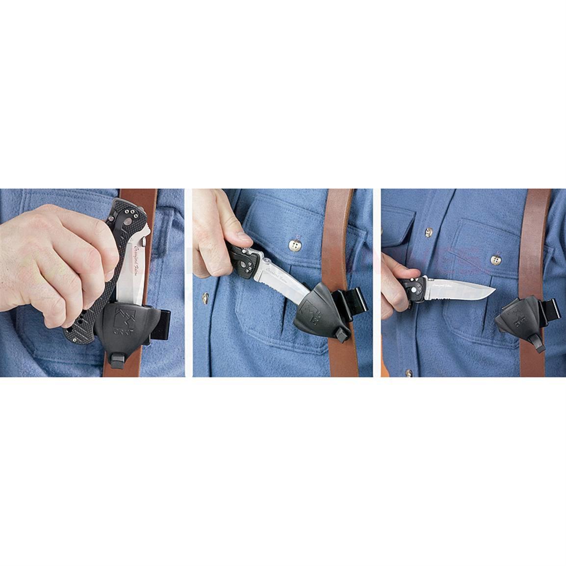 Фото 5 - Тактические ножны для складных ножей Merlin Professional, CRKT MERL1P