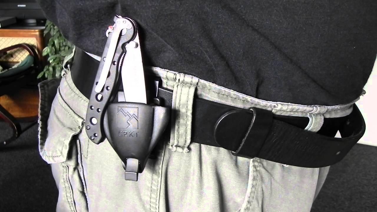 Фото 6 - Тактические ножны для складных ножей Merlin Professional, CRKT MERL1P
