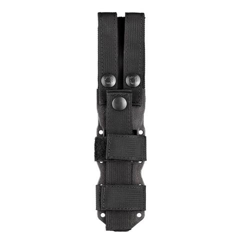 Нож с фиксированным клинком Hogue EX-F02, сталь A2 Tool Steel Black Cerakote, рукоять термопластик GRN, чёрно-песочный. Вид 4