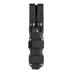 Нож с фиксированным клинком Hogue EX-F02, сталь A2 Tool Steel Black Cerakote, рукоять термопластик GRN, чёрно-песочный, фото 4