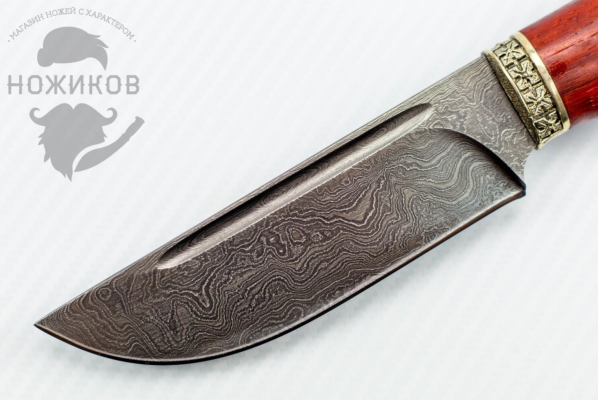 Фото 7 - Авторский Нож из Дамаска №80, Кизляр от Noname