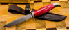 Нож Финка НКВД, М-390, карельская береза, мельхиор - Nozhikov.ru