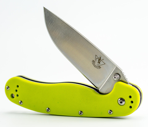 Складной нож Крыса 6, сталь 9Cr18MoV. Вид 5
