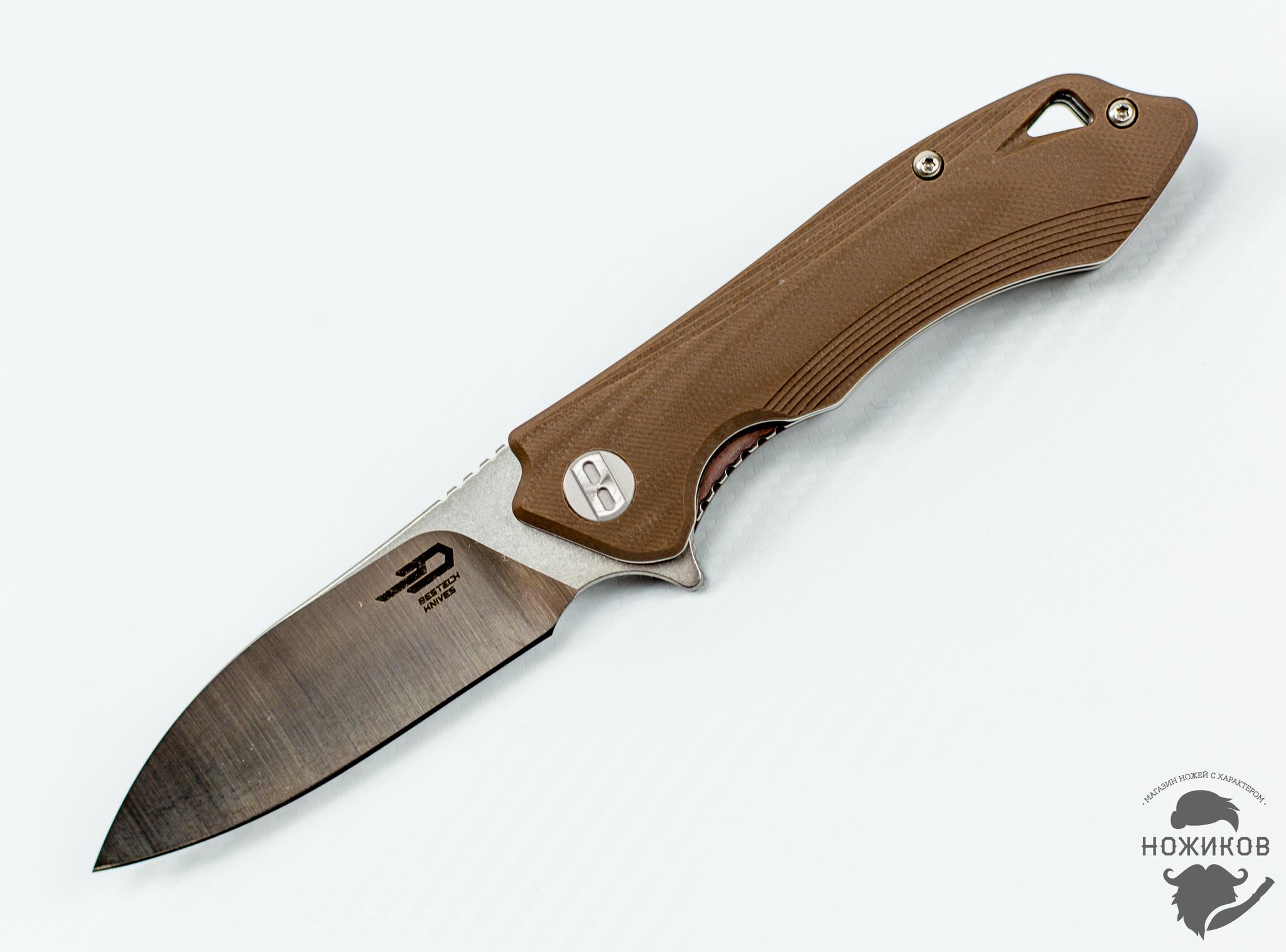 Складной нож Bestech Beluga BG11C-2, сталь Sandvik 12C27 eglo beluga 89133