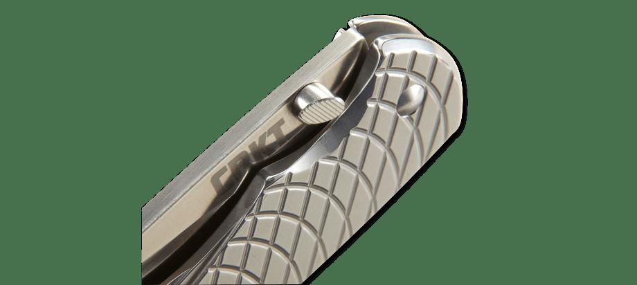 Фото 11 - Полуавтоматический складной нож Cobia, CRKT 7040, сталь 1. 4116 (X50CrMoV 15), рукоять нержавеющая сталь