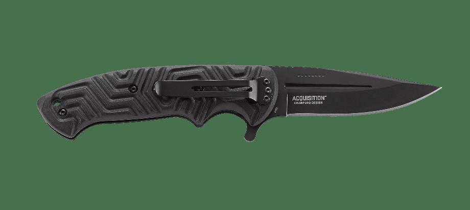 Фото 10 - Складной нож CRKT Acquisition, сталь 8Cr14MoV, рукоять термопластик