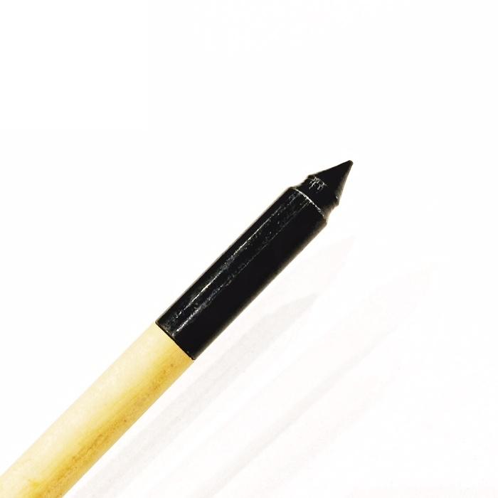 Стрела лучная деревянная (натуральное оперение) 28