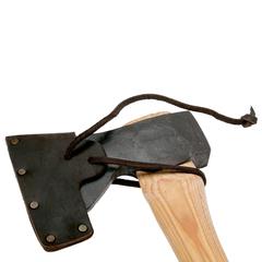 Топор плотницкий классический Hultafors, сталь шведская, рукоять дерево гикори, фото 5
