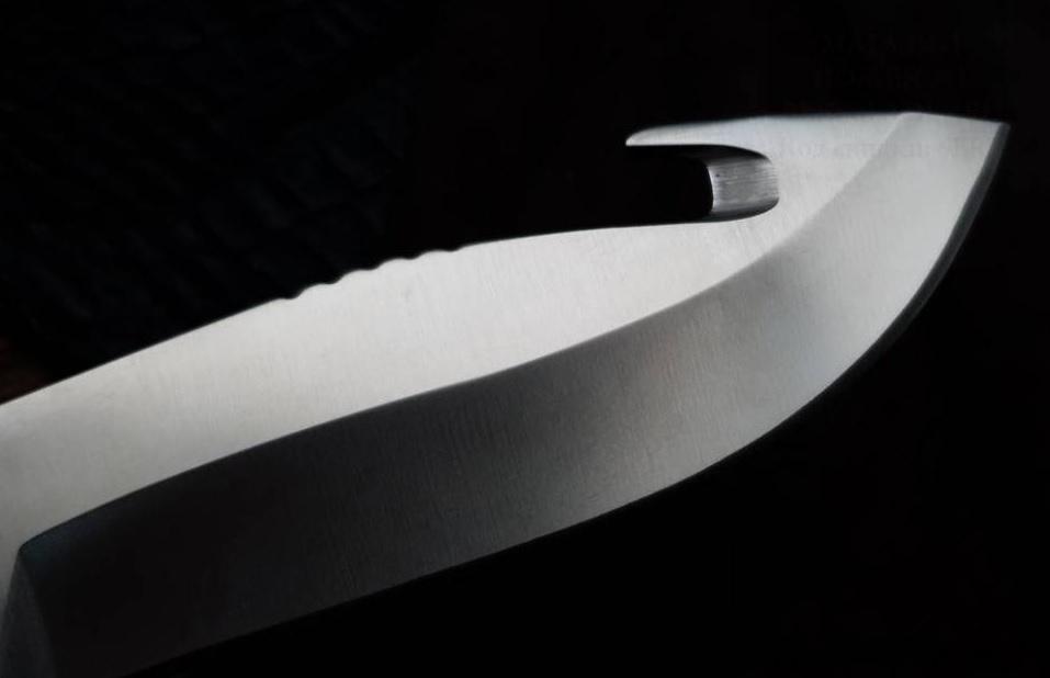 Фото 6 - Нож Pursuit Large Guthook - BUCK 0657GRG, сталь 420HC, рукоять термопластик