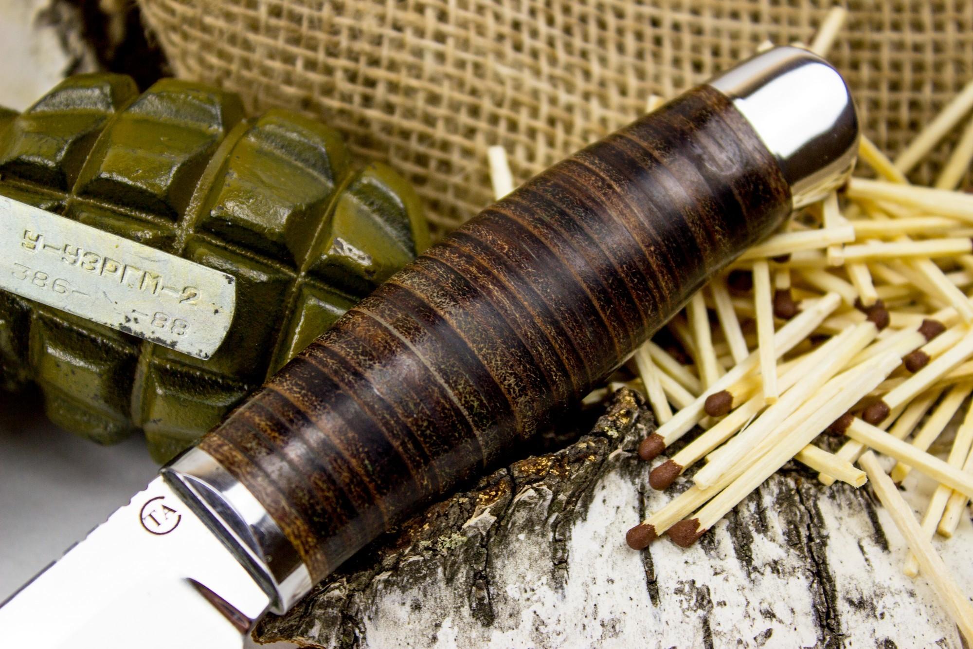 Фото 8 - Нож Гюрза-3, сталь 95х18 от Титов и Солдатова