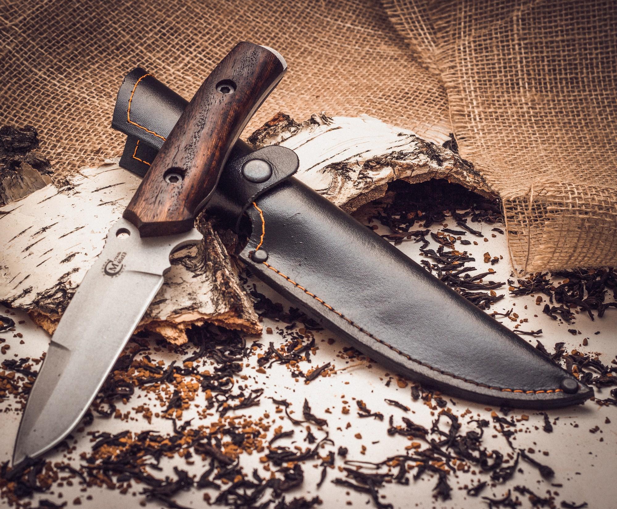 Фото 7 - Нож «Сапер», сталь 65х13 от Кузница Семина