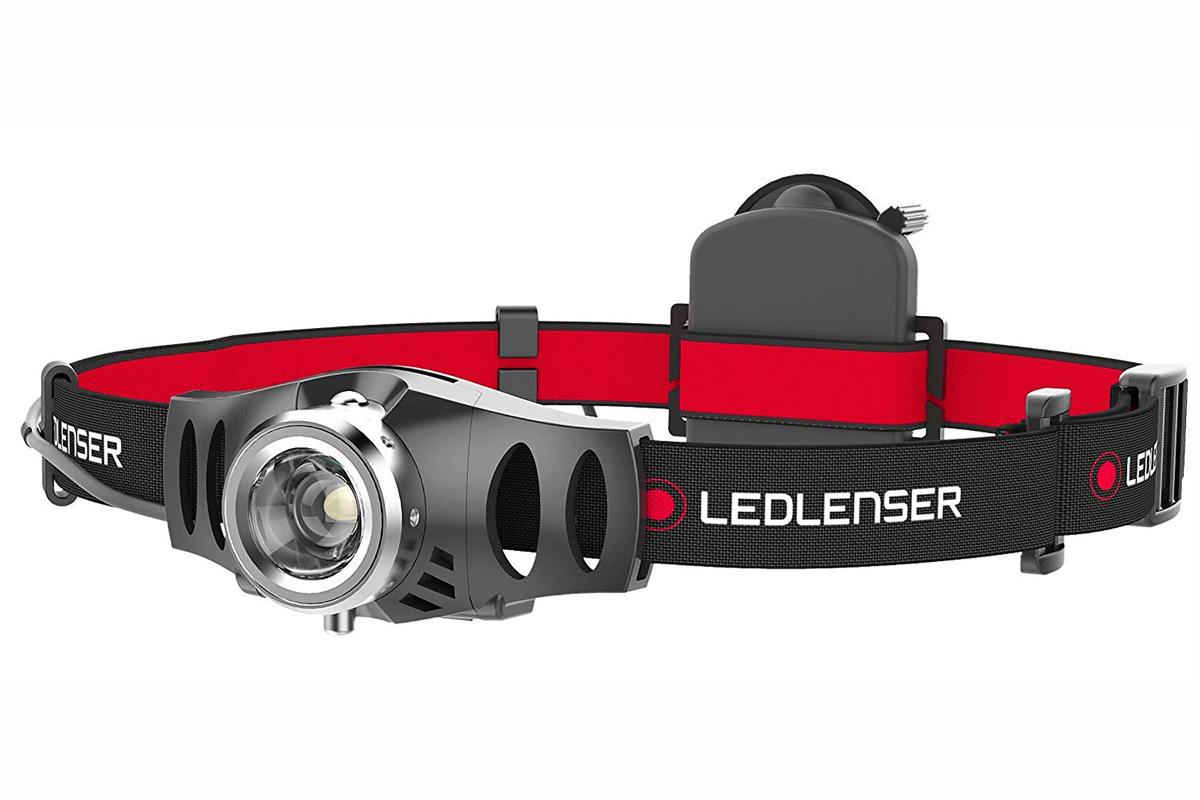 Фонарь светодиодный налобный LED Lenser H3.2, 120 лм., 1-AAA фонарь светодиодный с креплением led lenser p7 2n 320 лм 4 aaa