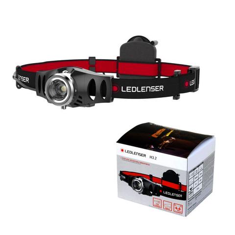 Фонарь светодиодный налобный LED Lenser H3.2, 120 лм., 1-AAA. Вид 2