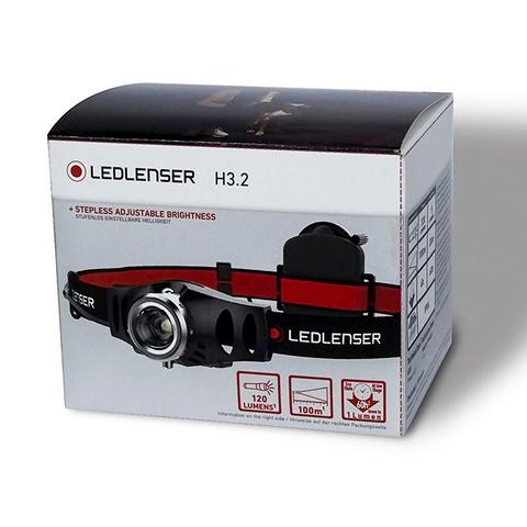 Фонарь светодиодный налобный LED Lenser H3.2, 120 лм., 1-AAA. Вид 3