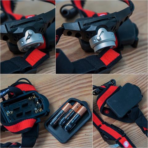 Фонарь светодиодный налобный LED Lenser H3.2, 120 лм., 1-AAA. Вид 6