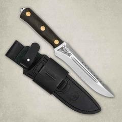 """Нож разделочный АиР """"Ирбис"""" ЦМ, сталь 95х18, рукоять текстолит, фото 1"""