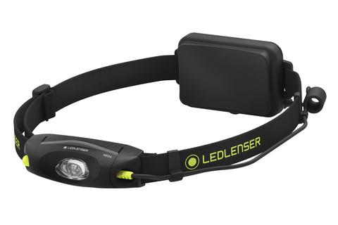 Фонарь светодиодный налобный LED Lenser NEO4, черный, 240 лм, 3-AAA. Вид 2