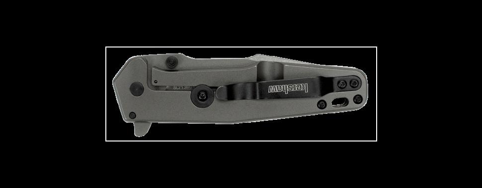 Фото 10 - Складной полуавтоматический нож Kershaw Ferrite K1557TI, сталь 8Cr13MoV, рукоять нержавеющая сталь