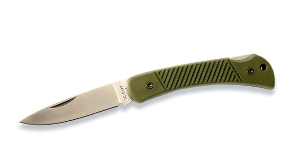 Складной нож IC CUT 54#9100PG, сталь AUS6