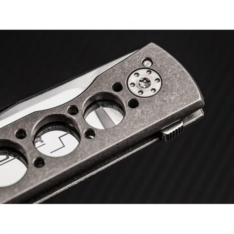 Фото 11 - Нож складной Urban Trapper - Boker Plus 01BO730, сталь VG-10 Satin, рукоять титан, серый
