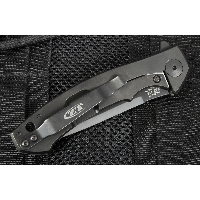 Фото 11 - Нож складной Zero Tolerance 0450CF, сталь CPM S35VN, рукоять карбон/титан