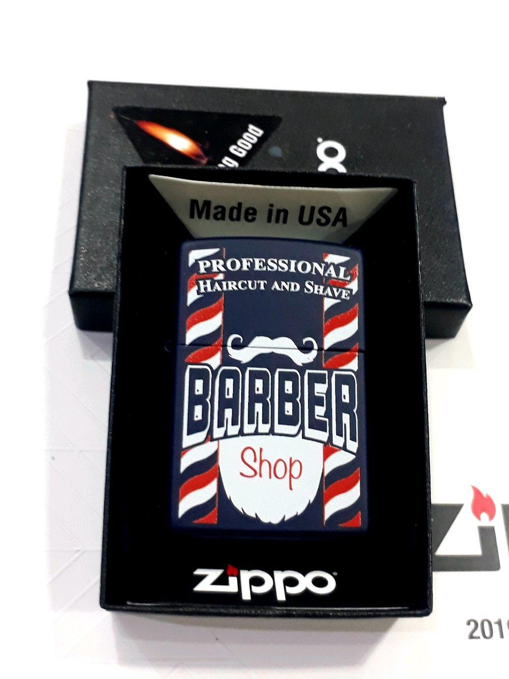 Зажигалка ZIPPO с покрытием Navy Matte, латунь и сталь, синяя, матовая, 36x12x56 мм зажигалка zippo navy matte