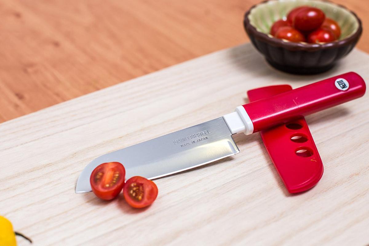Фото 6 - Кухонный нож овощной, Special Series, Fuji Cutlery, FК-403, сталь Sus420J2, красный