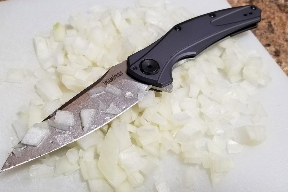 Фото 6 - Нож складной Bareknuckle - Kershaw 7777, сталь Sandvik 14C28N, рукоять серый анодированный алюминий