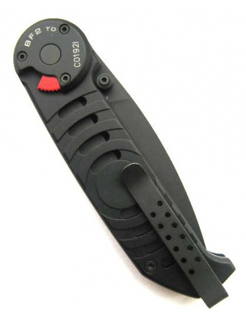 Фото 5 - Складной нож Extrema Ratio BF2 Tactical Drop Point Black, сталь Bhler N690, рукоять алюминий