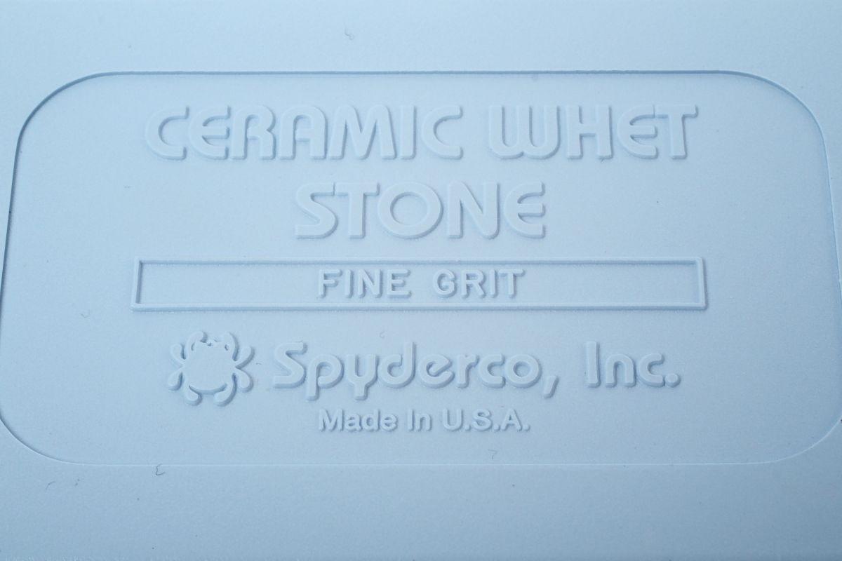 Фото 6 - Керамический камень (alumina ceramic) Spyderco BENCH STONE FINE, 302F