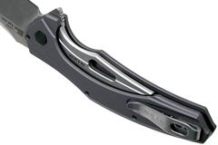 Нож складной Bareknuckle - Kershaw 7777, сталь Sandvik 14C28N, рукоять серый анодированный алюминий, фото 8