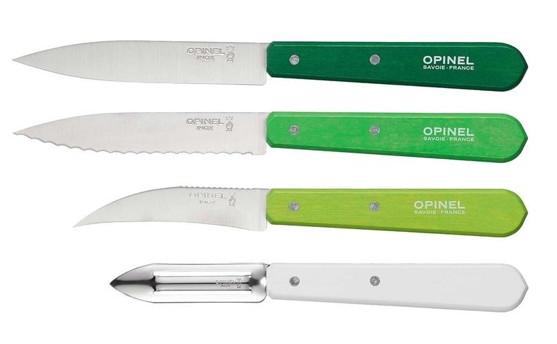 Набор ножей Opinel Les Essentiels Primavera, нержавеющая сталь, (4 шт)