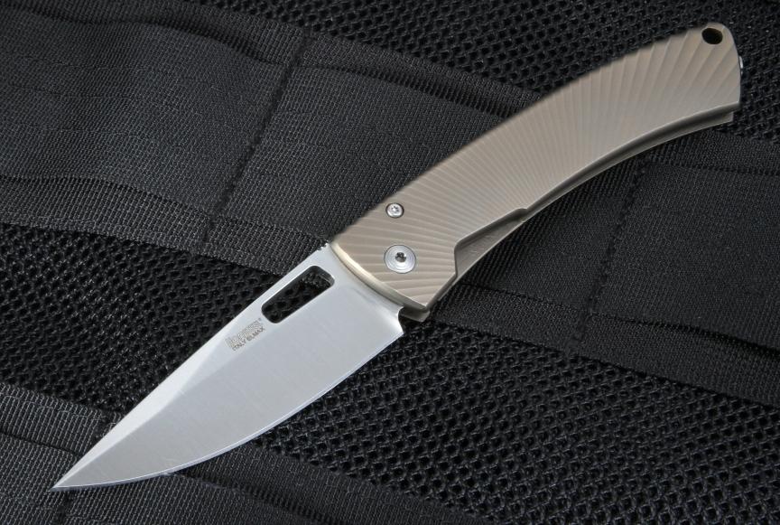 Фото 6 - Нож складной LionSteel TS1 BM, сталь M390, рукоять титан от Lion Steel