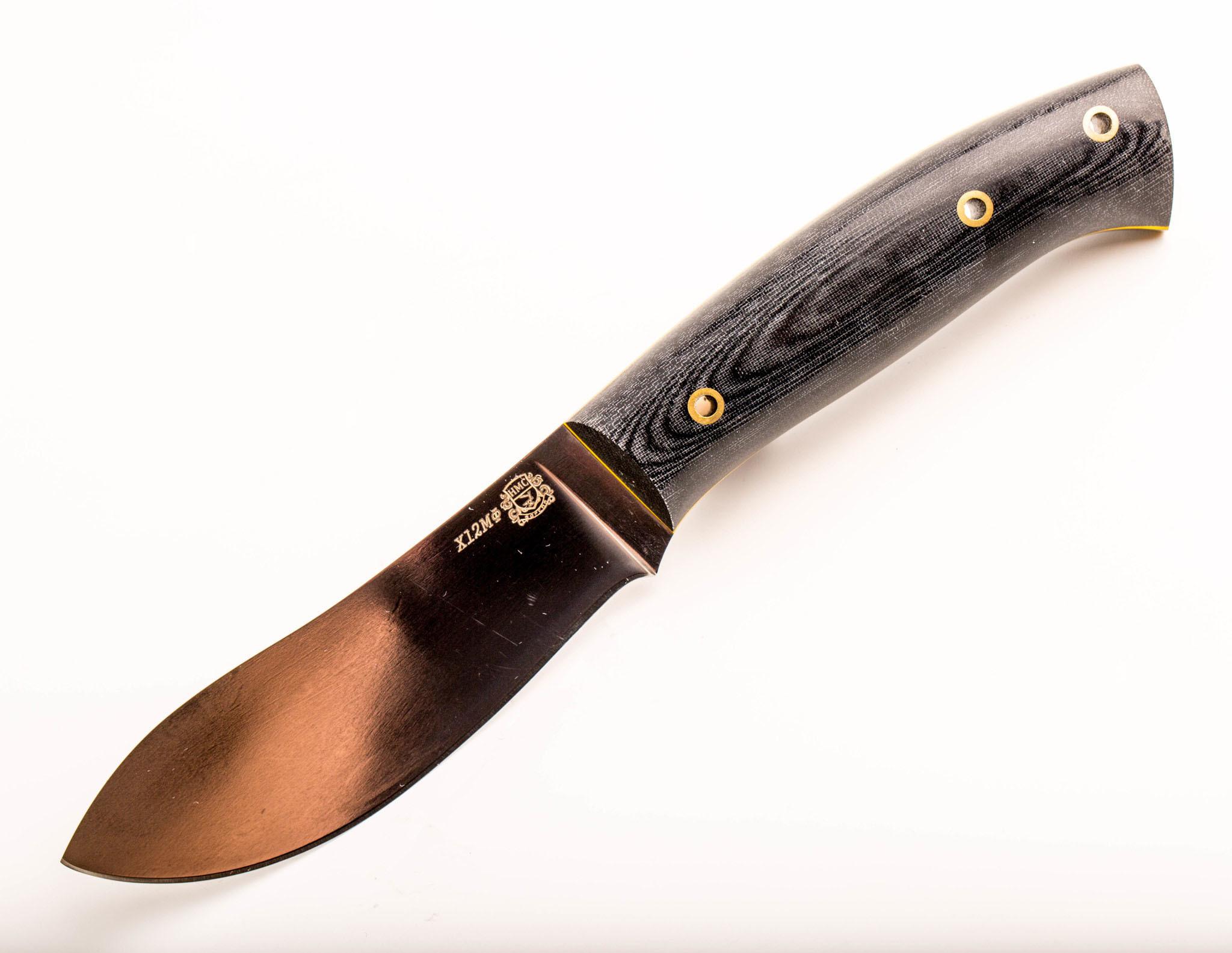 Нож цельнометаллический F6, сталь Х12МФ