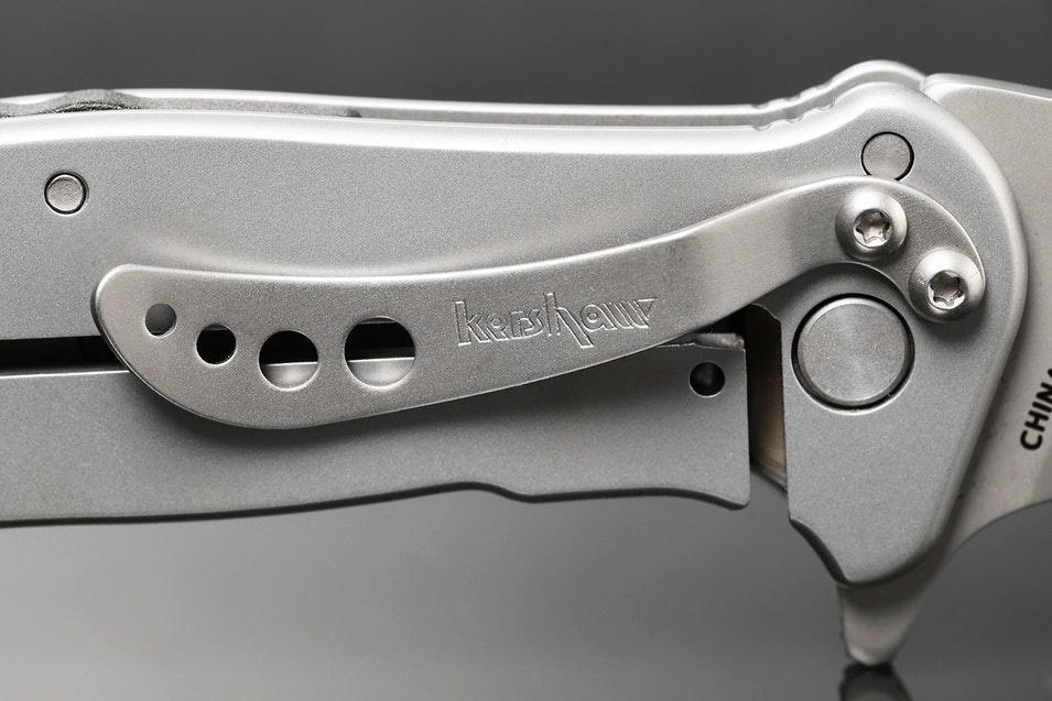 Фото 8 - Складной нож Zing SS KERSHAW 1730SS, лезвие сталь 8Cr13MoV, рукоять нержавеющая сталь